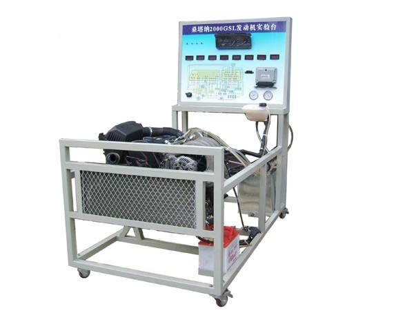 桑塔纳2000GSI型电器电路实习台,桑塔纳2000AJR发动机实验台 上海高清图片