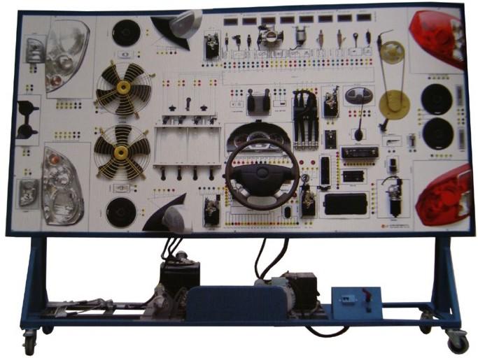sbqc-dq-05柴油车全车电器实训台