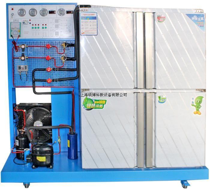 家用中央空调实验设备,家用中央空调实验台   sb-re3空调制冷设备电气