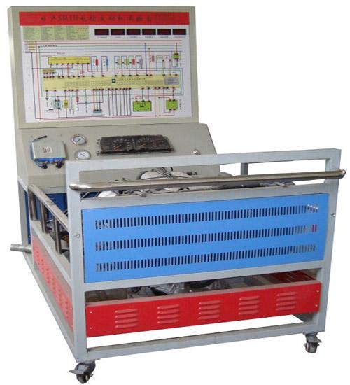 3,电压表实时显示传感器与执行器的变化,喷油器脉冲等各执行元器件用