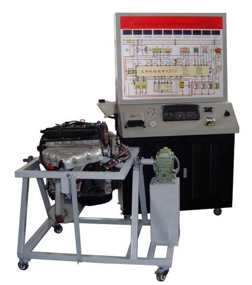 桑塔纳2000 GSI电控发动机拆装运行实训台 发动机实物解剖模型 以桑塔纳2000GSI时代超人原厂全新电喷汽油发动机为基础,发动机可拆装及运行,进行起动、加速、减速、故障检测与诊断、故障模拟与排除等工况的实际操作,真实展示汽车电喷汽油发动机结构与原理及工作过程。适用于各类型院校及培训机构对汽车发动机理论和维修实训的拆装与检测实训教学需要。 实训功能齐全、操作方便、安全可靠、美观大方。  (二) 结构组成 分为拆装实训台架与控制台架两大机构。桑塔纳2000GSI AJR发动机总成、原车发动机控制电脑、组