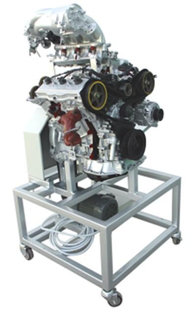 v6电控汽油发动机解剖模型