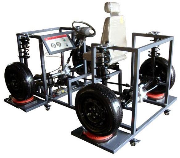 结构组成 拖拉机前后转向系统总成,方向机,前后转向系统联轴,方向盘及