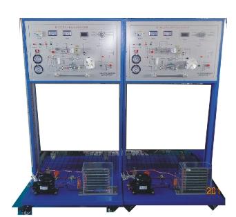 直冷/间冷式电冰箱制冷系统 实训台提供1/9匹冰箱制冷压缩机qd30(8