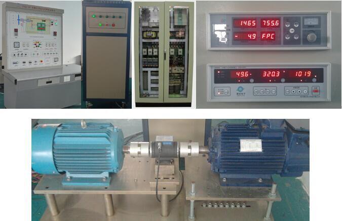 双馈风力发电机模拟试验系统
