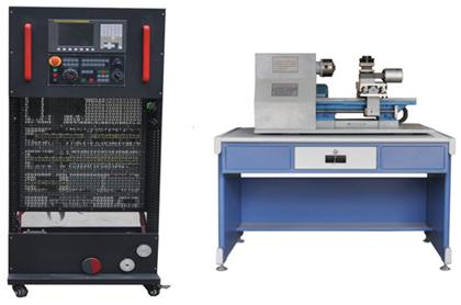 接线端子排和走线槽等;电器排布与选型完全按照现行的数控机床一致