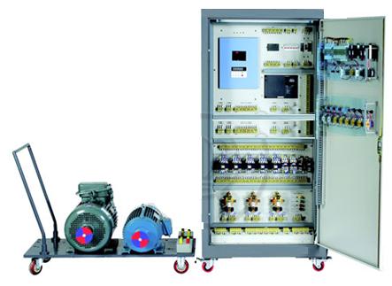 装置采用标准配电柜为主体柜,正面柜门为两扇对开式,一边为电气实训