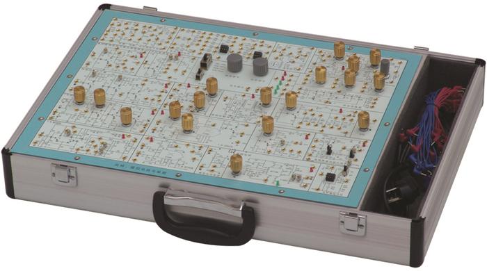 且正负对称) 二,可完成高频电路实验: ⑴单调谐回路谐振放大器; ⑵双